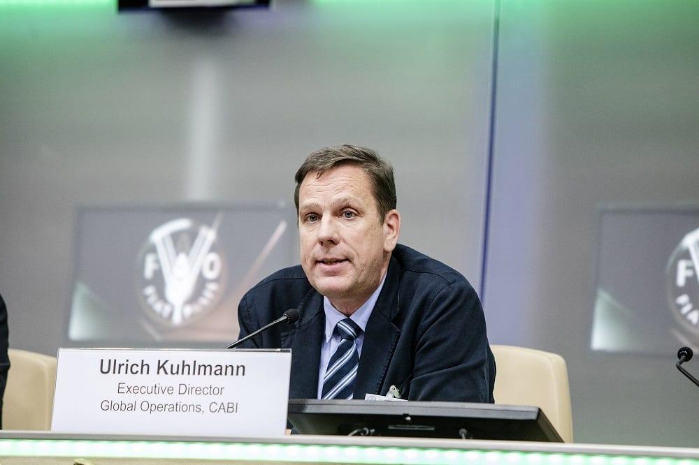 Dr Ulrich Kuhlmann at FAO