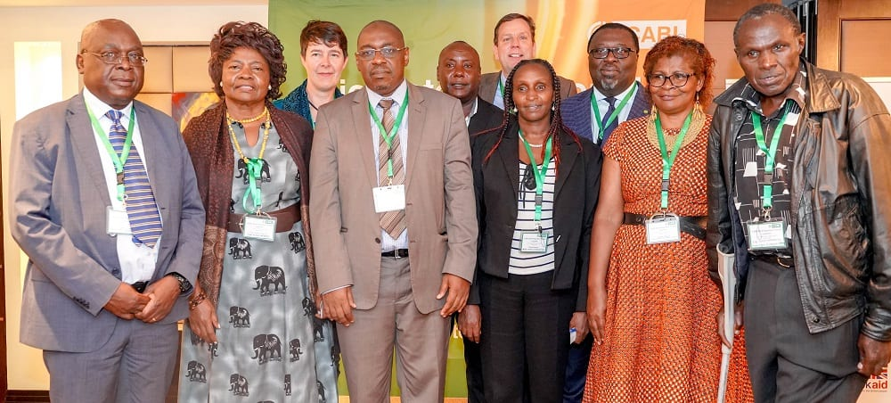 Guests at the CABI BioProtection Portal launch