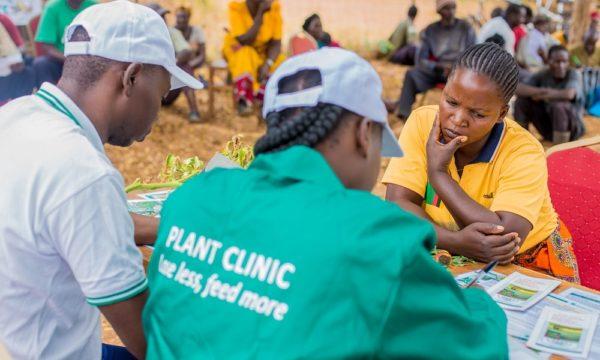 """""""Chinyunyu Plant Clinic in Rufunsa district, Zambia."""""""