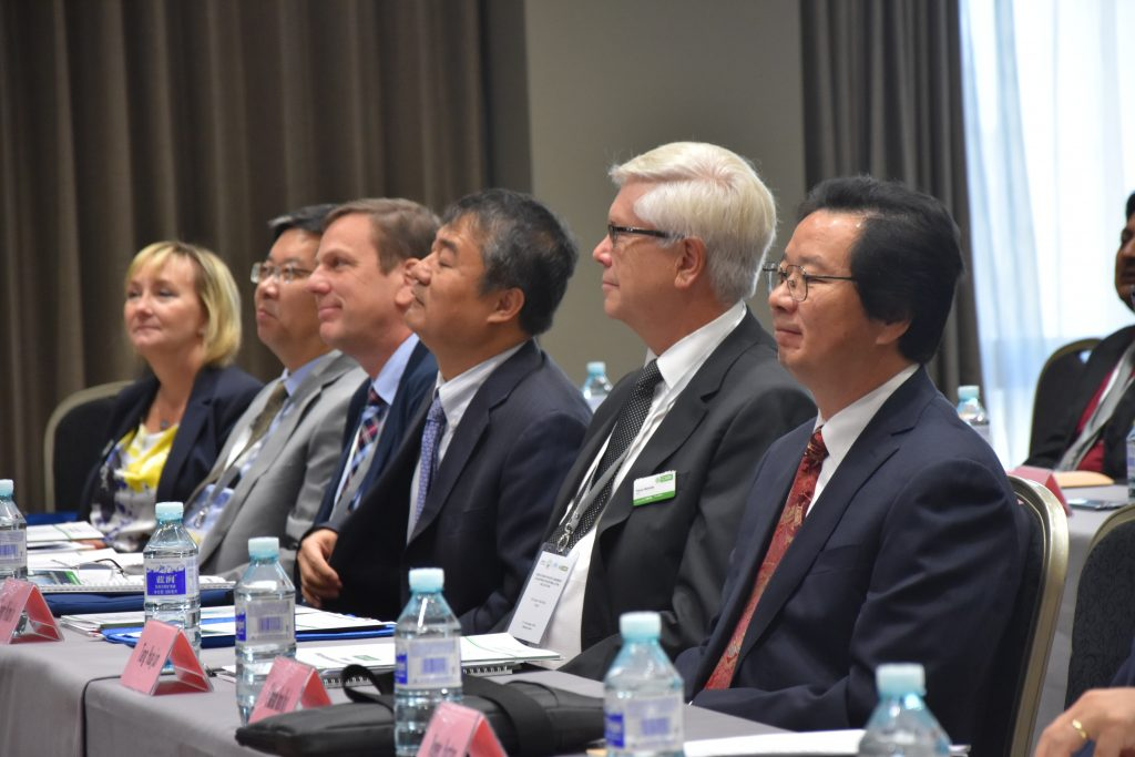 Panel of members and CEO
