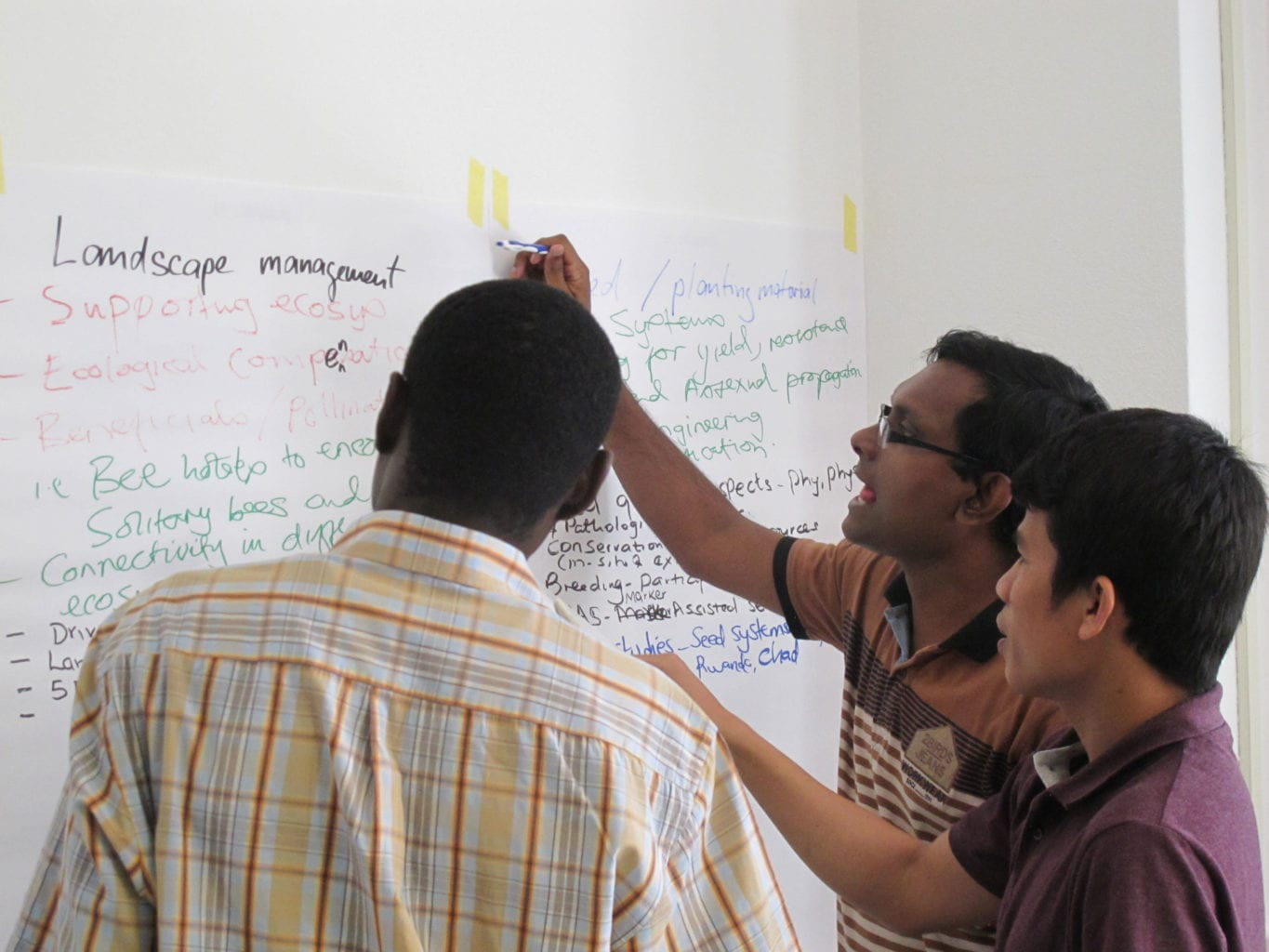 Partners across the world planning a campaign