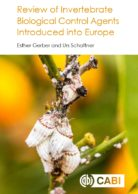 Review of Invertebrate Biological Control Agents Introduced into Europe