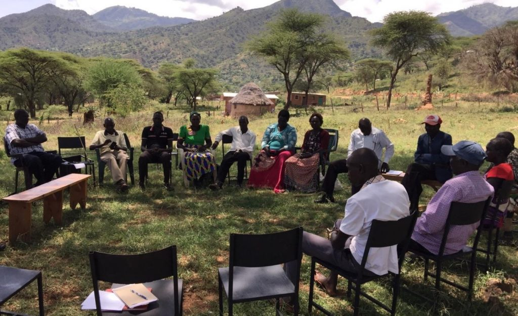 A focus group discussion with farmers of Kowow Farmers Cooperative